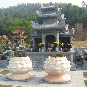 Khu lăng thờ họ Nguyễn, mộ đá vàng Tại Bắc Ninh