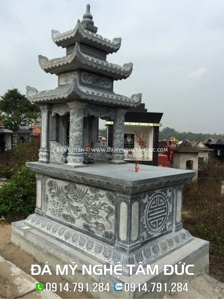 lăng mộ đá ba mái