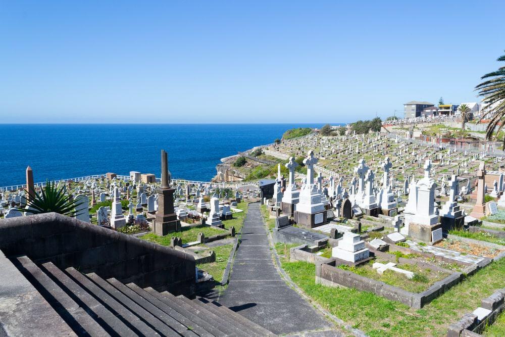 Khu nghĩa trang có hướng nhìn ra biển đẹp nhất trên thế giới